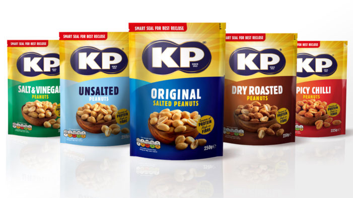 This Way Up Harnesses the Sun for KP Nuts in New Packaging Design