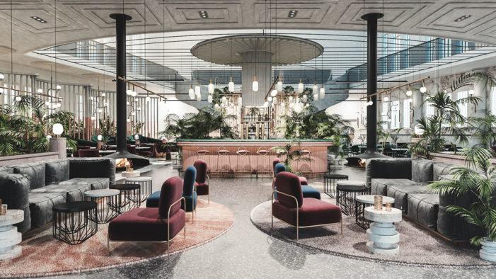 Rich Obsidian Stone Informs FormRoom's Design of Roman Inspired Restaurant, Kailo