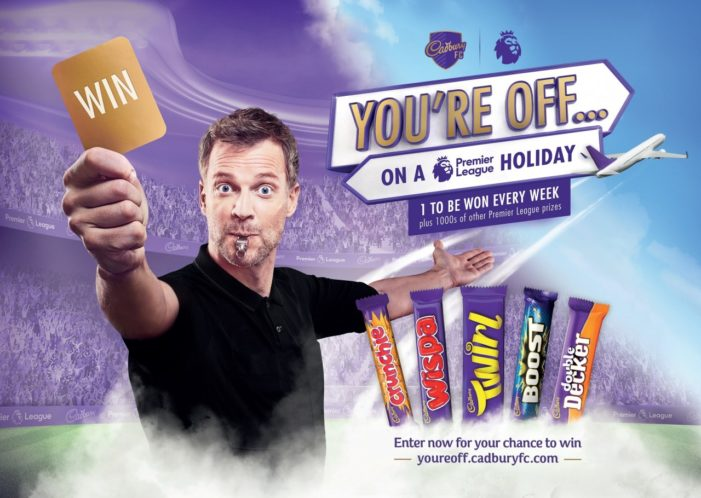 Cadbury Courts Chocaholic Football Fans with Premier League Holiday Giveaway