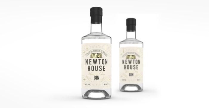 Design Happy Provides Fresh New Branding for Newton House Gin