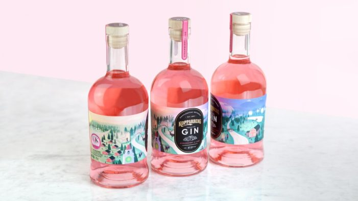 Kopparberg Unveils Premium Gin with Design Created by Elmwood