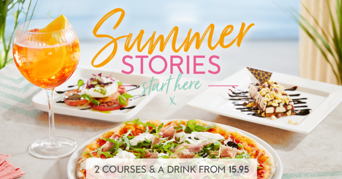 Clarity Launches Summer Stories Campaign for Prezzo