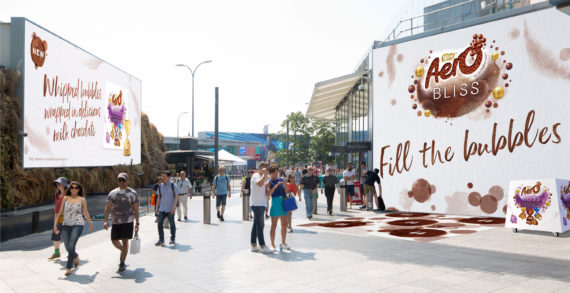Nestlé Aero Brings People Together with Experiential Campaign to Celebrate the Launch of Aero Bliss