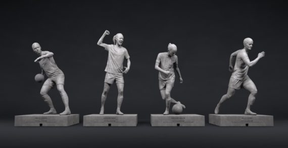 Coca-Cola and The Swedish Football Association Launches Statues of Four Female Football Stars