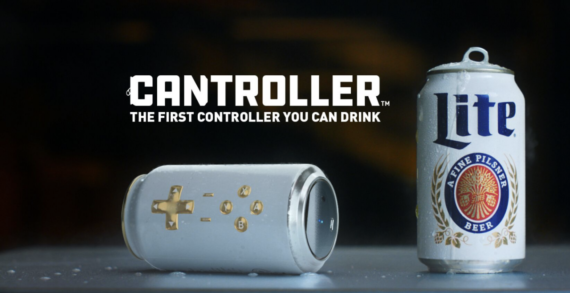 Miller Lite Launches the Cantroller: The First Gaming Controller You Can Drink