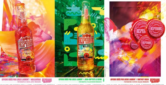Pearlfisher Refreshes the Brand Identity for Heineken's Desperados