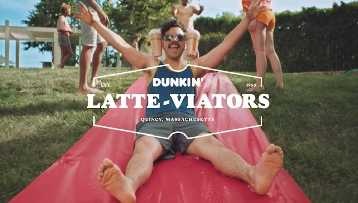 Dunkin's Espresso-Wear Returns with a 'Signature Line' of Latte Items