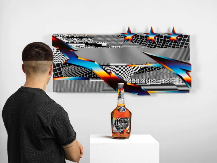 "Hennessy and Artist Felipe Pantone Break New Ground with ""Remixing the Present"""