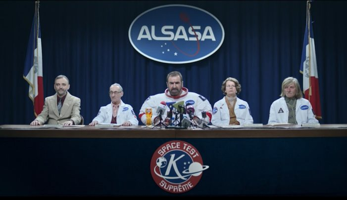 Eric Cantona Embarks on Rigorous Space Training for Kronenburg's Beer Mission