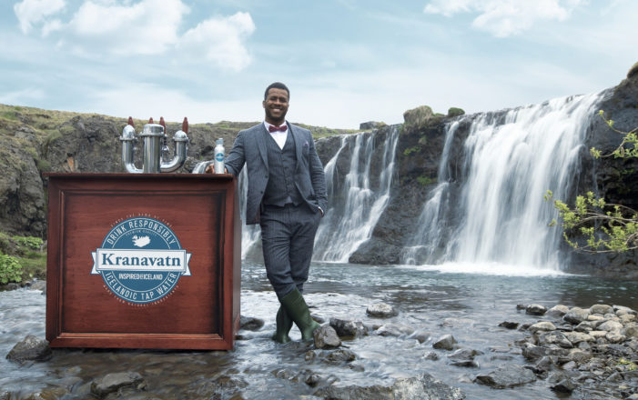 Inspired by Iceland Urges Tourists to Drink Responsibly as it Launches World's First 'Premium Tap Water' Brand