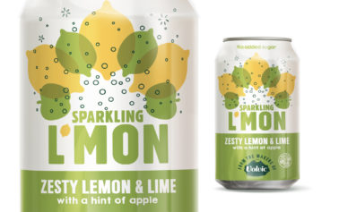 This Way Up Provides a Vibrant Pack Design for New Fizzy Drinks Range by Danone