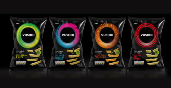 Elmwood Visualises Taste and Texture for Redesign of Yushoi, the Japanese-Inspired Snack Brand