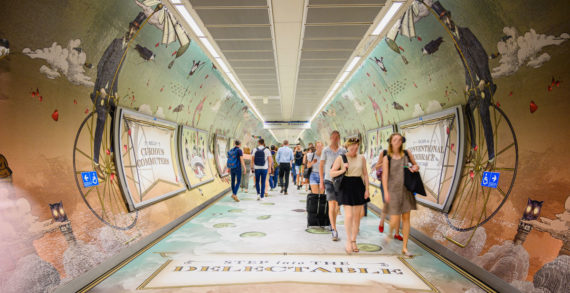 Hendrick's Gin and Space Invite the Curious to 'Escape the Conventional' with a King's Cross Passageway Portal
