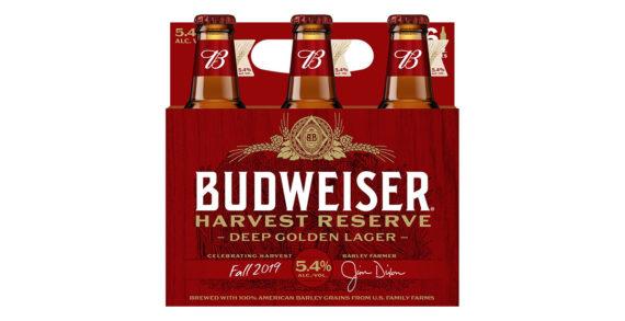 Budweiser Launches New Harvest Reserve Deep Golden Lager