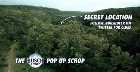 Busch Beer Teams with Lucky Generals to Unveil Hidden 'Pop-up Schop'
