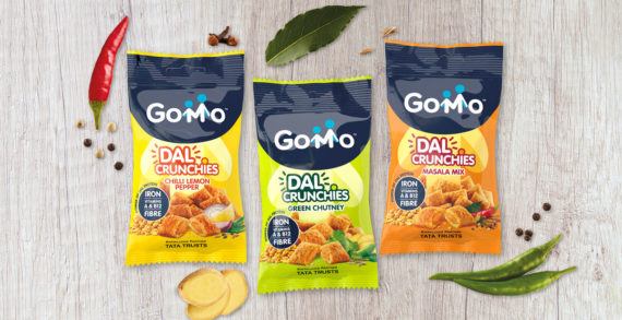 Straight Forward Design Team with Mars to Create the Brand Identity for GoMo Dal Crunchies