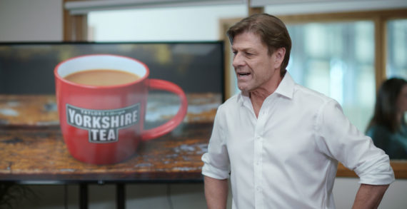Sean Bean and Dynamo Join the Team at Yorkshire Tea for New Campaign by Lucky Generals