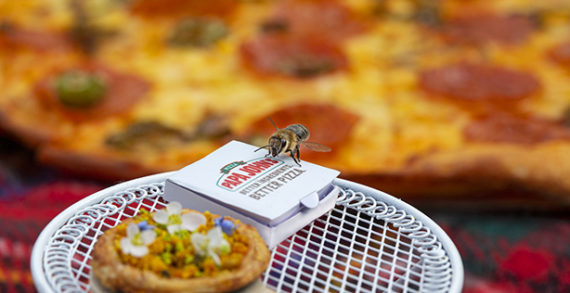 Papa John's Creates 'Beezza' to Help Raise Awareness for the Declining Bee Population