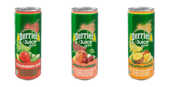 Perrier Takes Thirst-Quenching Refreshment up a Notch with the Launch of Perrier & Juice Drink