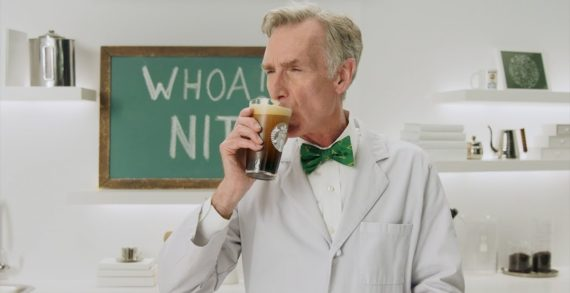 Starbucks and Bill Nye Explain the Science Behind the 'Whoa Nitro' in New Campaign