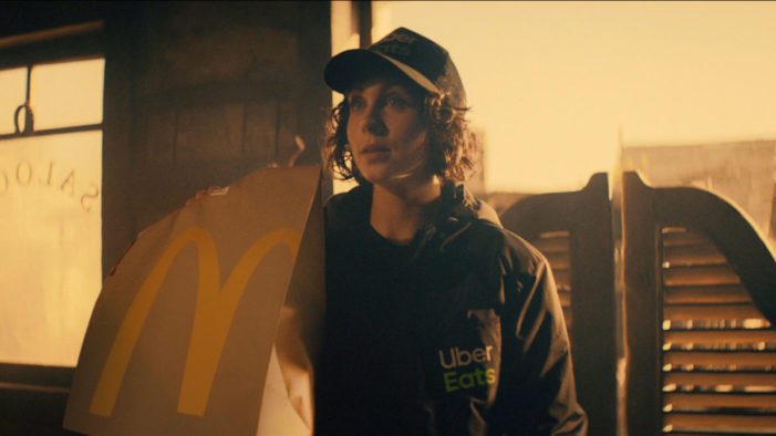 McDonald's McDelivery and Leo Burnett London Interrupt the Movie World in New Campaign