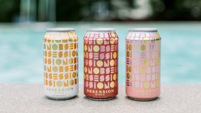 Watermark Brings the California Sunshine to the Canned Wine Shelf via Obsession Wines Branding