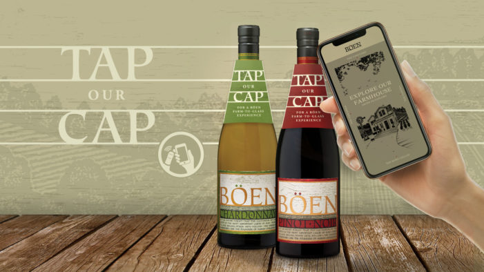 Wine Brand Böen Teams with Guala Closures and SharpEnd to Launch First NFC-Enabled Wine Bottles in US