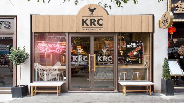 Kallø Satisfies Food Cravings with the 'KRC' Takeaway Pop-up in the UK