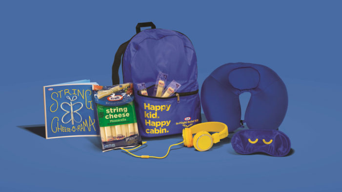 Kraft's New In-Flight Relief Pack Helps Reduce Parents' Labor Day Travel Stress
