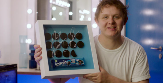 Lewis Capaldi Auctions His Own Pre-Twisted, Licked and Dunked OREO Cookies in New Content Push
