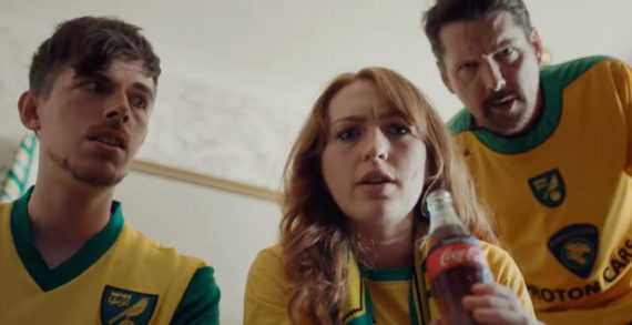 Delia Smith Makes Surprise Appearance in New Coca-Cola Premier League Advert