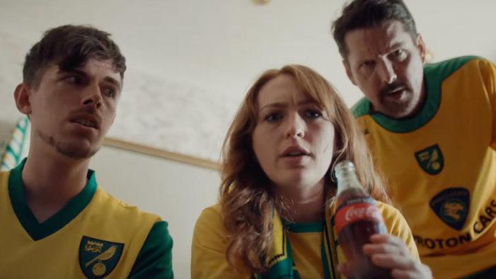 Delia Smith Makes Surprise Appearance in New Coca-Cola Premier League Advert
