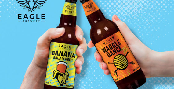"Bonfire Creates ""Pop-Art"" Inspired Branding for The Eagle Brewery's Flavoured Beer Range"