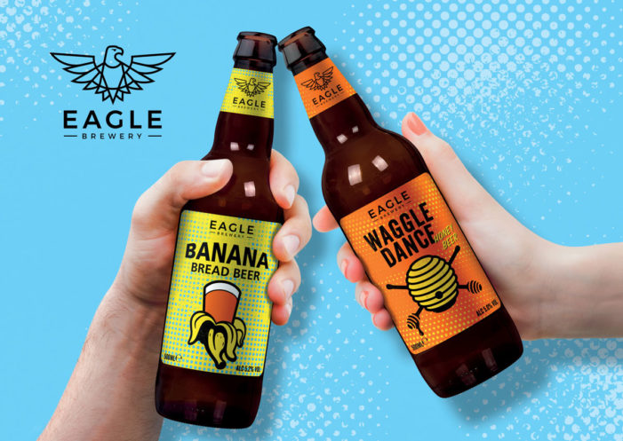 """Bonfire Creates """"Pop-Art"""" Inspired Branding for The Eagle Brewery's Flavoured Beer Range"""