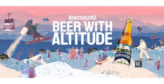 Kosciuszko Pale Ale is 'Beer with Altitude' in Bold Marketing Campaign by 72andSunny