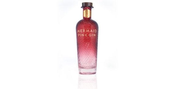 Isle of Wight Distillery's Mermaid Gin Goes Pink