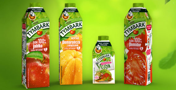 Maspex Chooses SIG's Innovative Carton Bottle to Refresh Popular Tymbark Brand