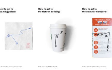 Clever Posters Demonstrate How People Navigate Cities Using McDonald's Restaurants