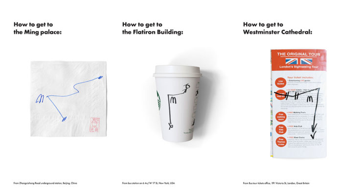 Clever Posters Demonstrate How People Navigate Cities Using McDonald's Restaurants