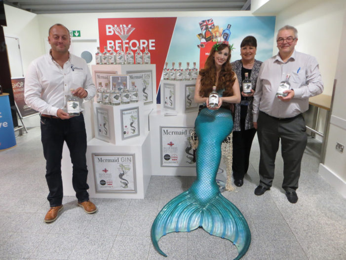 Mermaid Gin Sales Soar with Tasting Experience at Travel Retail Venues