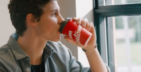 Shawn Mendes Returns to His Canadian Roots in GUT Miami's Tim Hortons Film