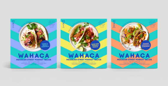 Without Gives Wahaca Taco Kits a Vibrant 'Restaurant Quality' Makeover