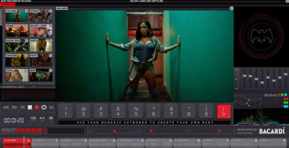 BACARDÍ Hacks Youtube with the Launch of 'The Beat Machine' via BBDO New York