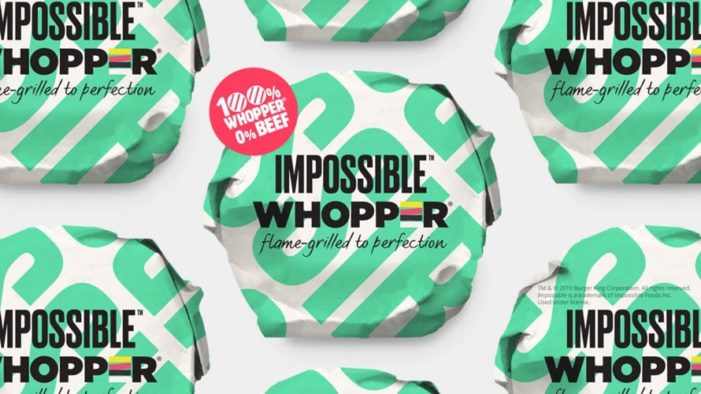 Burger King Launches the Impossible Whopper Nationwide in the US