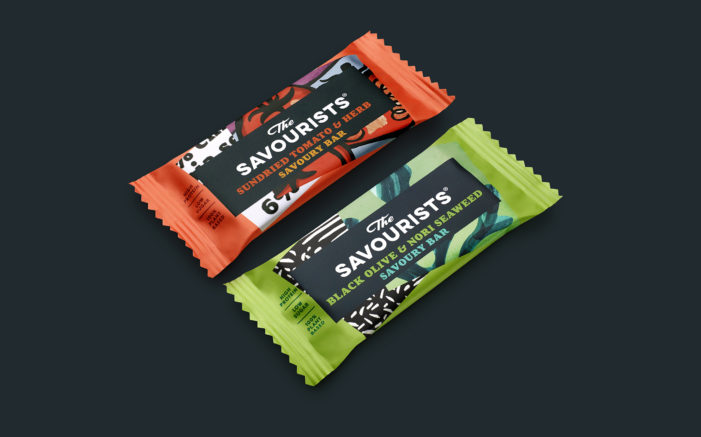 B&B Studio Reinvents Snacking Design Codes with New Identity for Savoury Snack Bar The Savourists