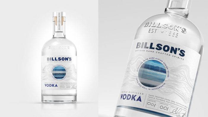 Billson's Launches Small Batch Vodka with Strategy and Design by Cowan London