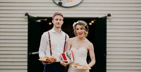 KFC Encourages Aussies to 'Put a Wing on it' with New KFC Wedding Service Launch via Ogilvy Australia