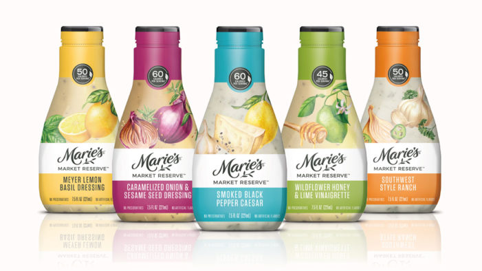 Marie's Salad Dressing Goes Gourmet with New Market Reserve