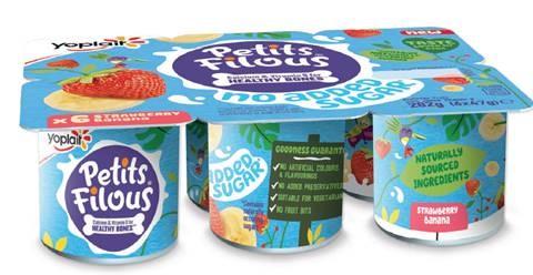 Petits Filous Launches No Added Sugar Range