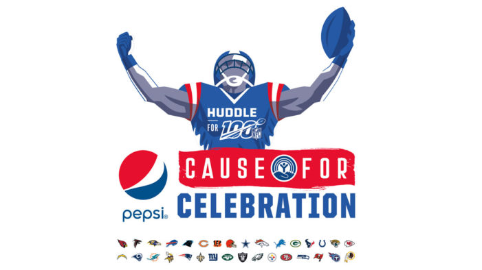 Pepsi Spotlighting NFL Fan and Player Celebrations All Season Long with Launch of 100th Season Campaign